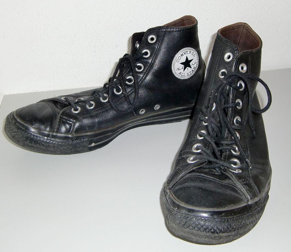 Leder chucks Converse Chuck Taylor All Star SE - Gr. 10 schwarz