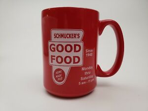 Schmucker's GOOD FOOD Restaurant Toledo OH Since 1948 Coffee Mug Home Made Pies