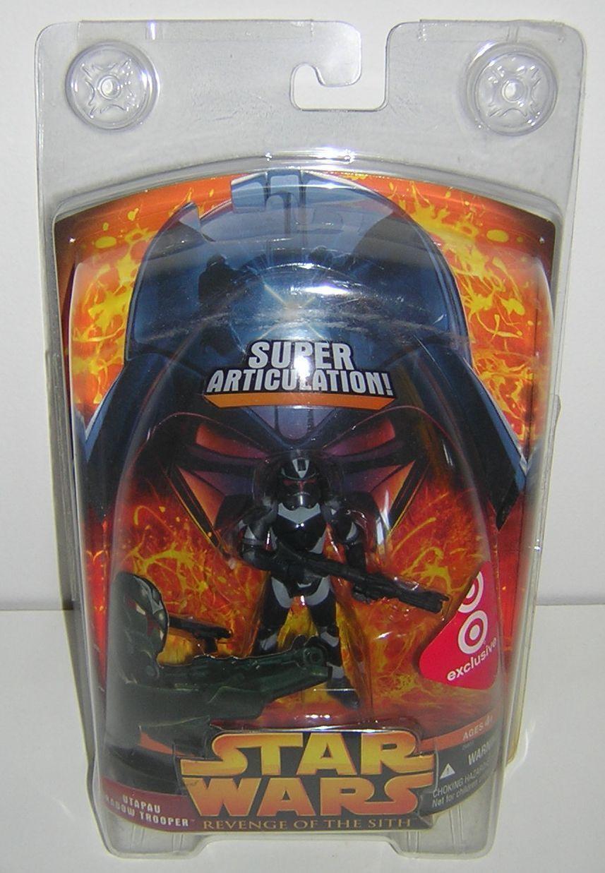 Star Wars redS Utapau Shadow Trooper Target Exclusive Import