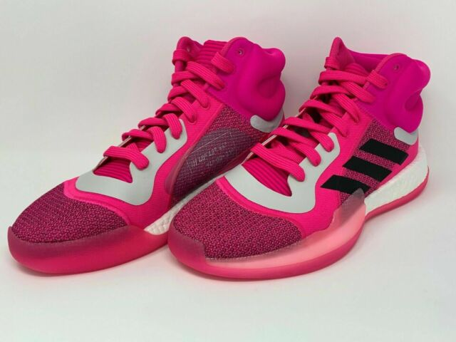 Adentro Petición Insignificante  ADIDAS Marquee Boost Hot Pink Basketball Shoes Men's Size 8.5 G28776 BRAND  NEW | eBay