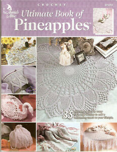 ANNIE-039-S-ATTIC-2001-ULTIMATE-BOOK-OF-PINEAPPLES-35-CROCHET-PATTERNS-873212
