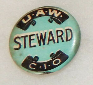 UAW-CIO Facts Card 1950s Union Rights United Auto Workers