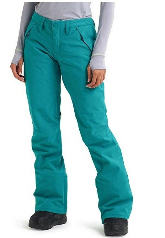 Burton Society Snowboarding Pants -  Women's - Green-bluee Slate - X-Small  low prices
