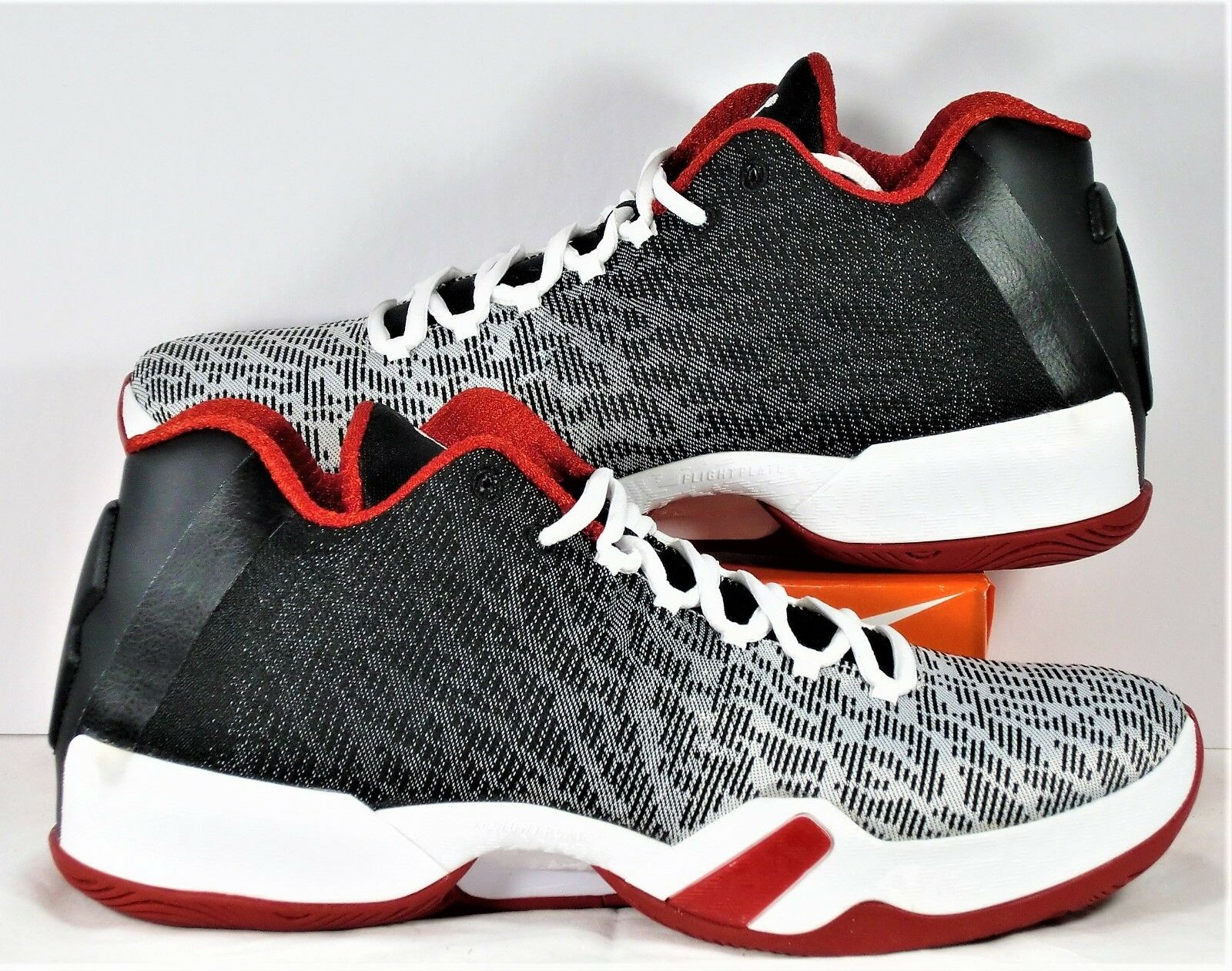 official photos f94a7 25e5d Nike Air Jordan XX9 Low White Black   Gym Red Red Red Chicago Bulls Sz 10