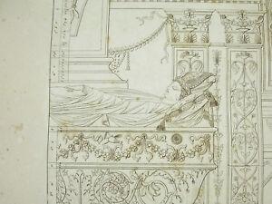 Grandjean-Montigny-1813-Rome-Tombeau-Capranicensi-Arberini-La-Minerve-Italy