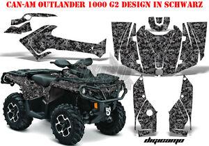 AMR RACING DEKOR KIT ATV CAN-AM OUTLANDER STD & XMR/MAX GRAPHIC KIT DIGI CAMO B