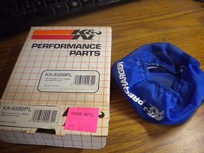 Open Box NEW K/&N Air Filter Precharger 1987-2013 Kawasaki KLR650 KA-6589PL