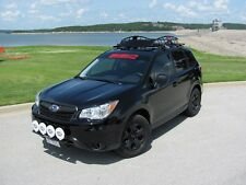 Fits;2015 Subaru Forester Hybrid Roof Rails, Rack,Black Powder Coated,Custom Fit