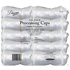 Diane D722 Hair Processing Caps 100 Pack