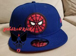new concept ada87 1bf34 Image is loading Disney-Marvel-spiderman-Homecoming-Beveled-snapback-cap-hat -