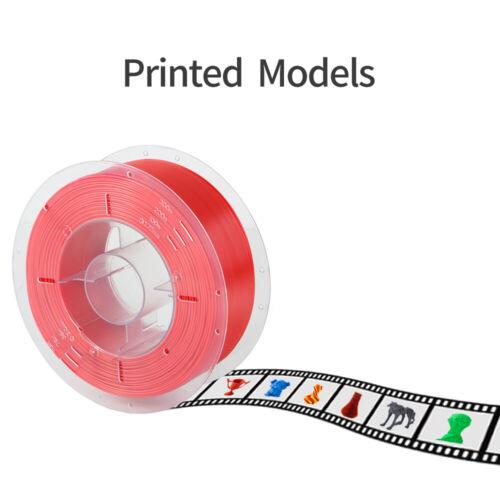 Creality 1KG//2.2lb 1.75mm PLA Filament For Anycubic I3 Mega Ender 3 3D Printer