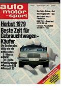 auto motor und sport - Heft 21 - 1979