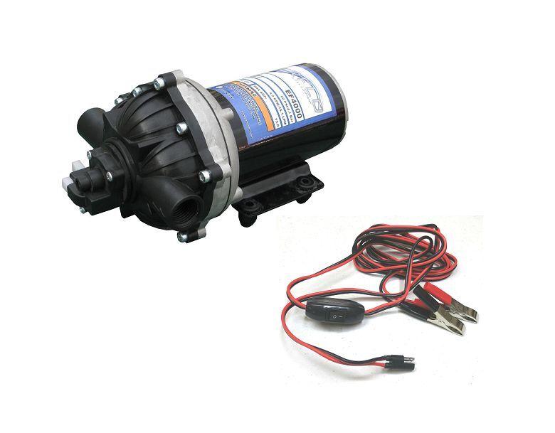 Nuevo 3.0 Gpm 60 Psi 12 Voltios Diafragma sobre demanda de Bomba De Agua W   alambre arnés de alimentación