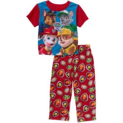 Nickelodeon Paw Patrol 2 PC Short Sleeve Pajama Set Boy Size 5T