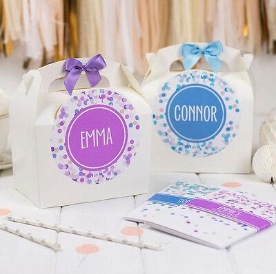 Imparziale Personalizzata Bambini Attività Box & Book Pack Coriandoli Matrimonio Regalo Sacchetto Favore-mostra Il Titolo Originale