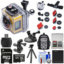 Kodak PixPro SP360 HD Video Action Camera Camcorder 197' Housing Aqua Sport Pack