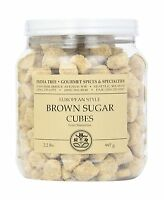 India Tree Brown European-style Sugar Cubes 2.2 Pound Free Shipping