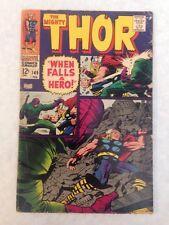 Thor #149 Origin Inhumans Blackbolt 2nd Wrecker Marvel Movie Comic Key VG+