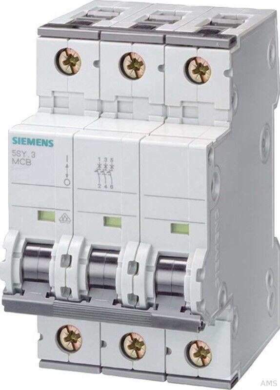 Siemens LS-Schalter B20A,3pol,T70,10kA 5SY4320-6 | Verschiedene Stile und Stile