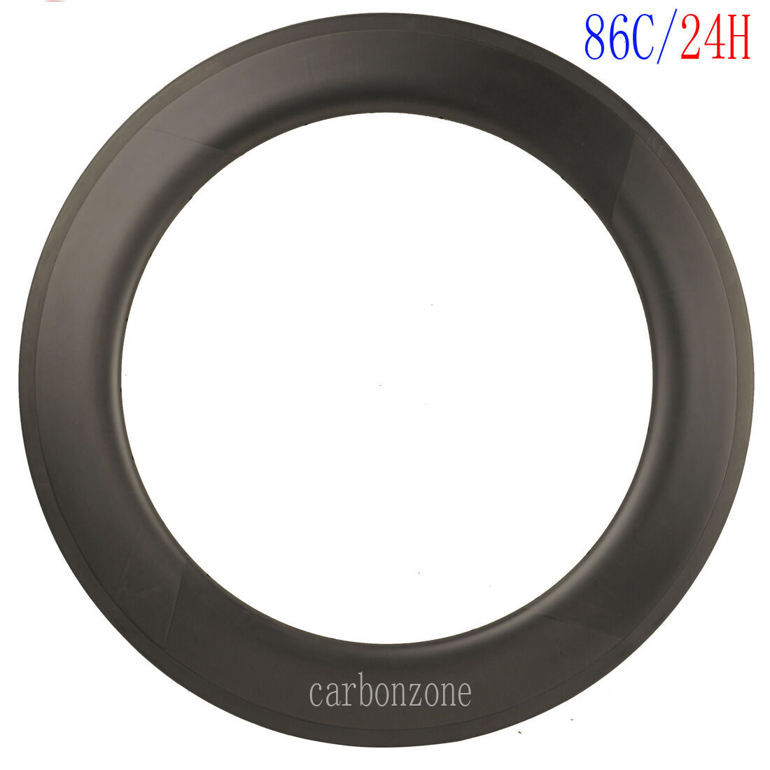 86mm Carbon Rim 27mm 24h Clincher Road Bike UD Matt wheel Rim 700C Basalt Race