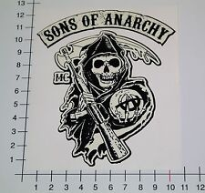 Sons of Anarchy Pegatina Sticker Redwood Biker mc v8 SOA Skull 1% Chopper mi330