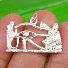 Egyptian Eye Of Horus Pendant Genuine 925 Sterling Silver - P1630AJ
