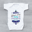 Happy Fathers Day Daddy Mum Says You/'re Welcome Boys Baby Vest Grow Bodysuit