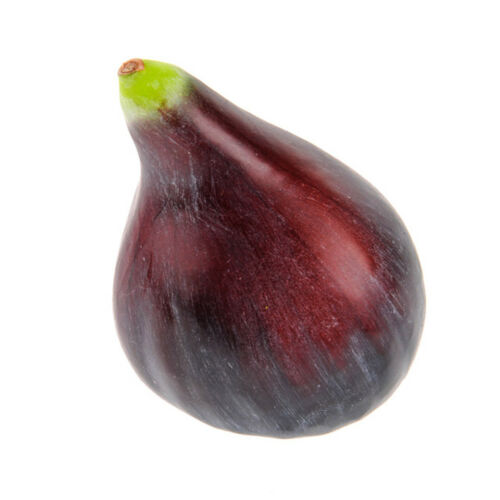 Fruit Artificial Common Fig 3 Inches realistic life size fake mock fruit