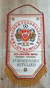 RAR-Orig-Wimpel-BFC-Dynamo-Berlin-Foerderndes-Mitglied-DDR-Oberliga-Fussball