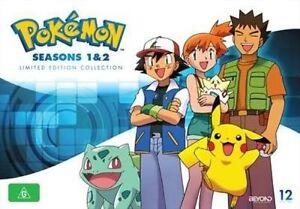 pokemon season 1 2 dvd 2014 12 disc set ebay