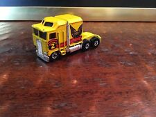 Rare Hot Wheels Thunder Roller 1982 Semi Truck Cab Yellow Vintage Collectible