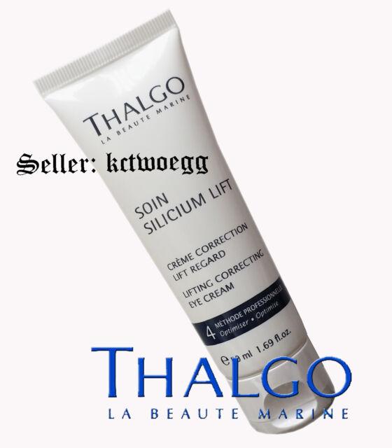 Thalgo Silicium Crema de Ojos Corrección de levantamiento de elevación 50 Ml 1.69fl.oz Envío Gratis