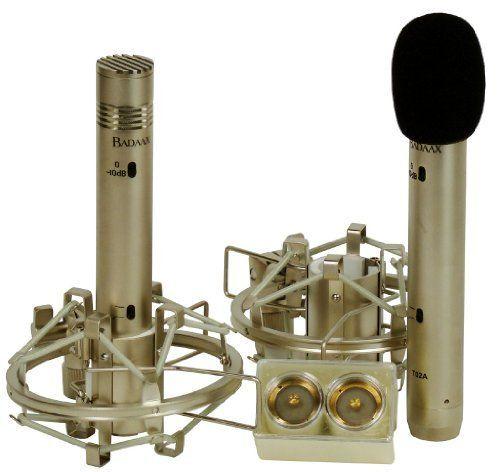 Bad Aax T14A T-14A 2x T02A FET Condenser Microphone Pac