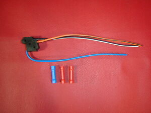 80s Gm Chevy C10 Truck K5 Power Door Lock Switch Connector Plug Pigtail Wire Ebay