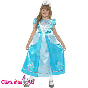 Kids-Girls-Rags-to-Riches-Princess-Costume-Child-Fancy-Dress-Childrens-Book-Week