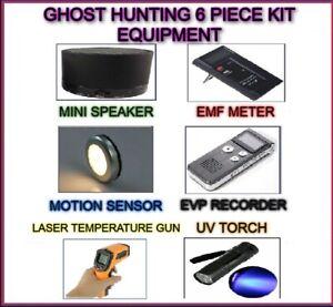 GHOST-6-PIECE-HUNT-EMF-EVP-SPIRIT-SENSOR-PARANORMAL-HUNTING-EQUIPMENT-KIT