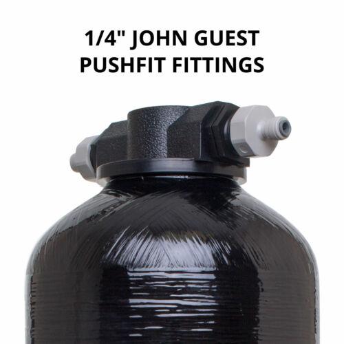 "1//4/"" PF Fittings EMPTY DI Resin Pressure Vessel 25L Window Cleaning Car"