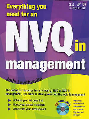 Everything You Need for an NVQ in Management by Julie Lewthwaite (Paperback,...