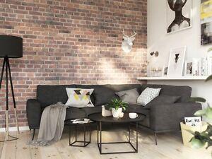SAMPLE 3D 25 cm BRICK EFFECT WALL CEILING PANELS POLYSTYRENE TILES Indoor