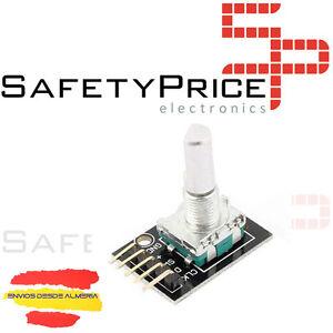 Capable 2x Sensor Rotatorio Codificador Con Eje Pulsador Ky-040 Rotary Encoder Rosca