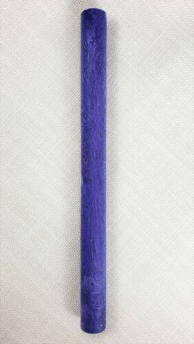 "Stems 1pc x 12/"" Rod For Pens Juma Gem Violet 18mm Dia Pipes Knives"