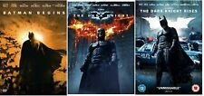The Complete Dark Knight Trilogy DVD Collection Christian Bale, Michael New Dvd