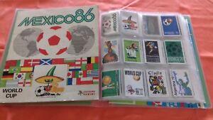 Panini Album World Cup Coupe du Monde MEXICO 86 - REC. - 1 stickers au choix