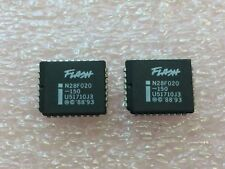 N28F001BXB-150 INTEL PLCC-32 PACKAGE 1 MEG  FLASH EPROM 2 PCS