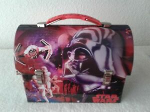 Star-Wars-Workmans-Carry-All-Tin-Tote-Lunchbox-UNUSED-2015