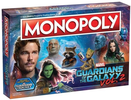 Play Games Custom Kids Toys Films Gifts Monopoly Game Guardians Of The Galaxy