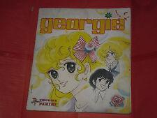 ALBUM DI FIGURINE NON COMPLETO MENO 23 -GEORGIE-B- DEL 1984 PANINI -RAI TV MANGA