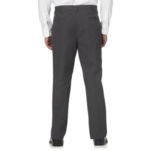 Dockers The Best Pressed Straight Fit Pinstripes Signature Khaki Gray 476990016