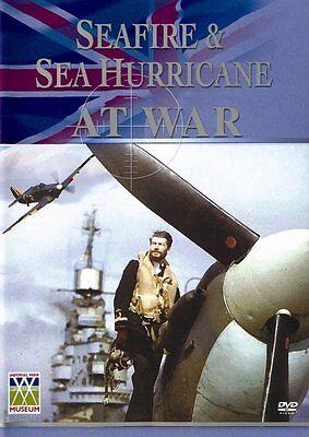 Seafire & Sea Hurricane at War (New DVD) Aviation Aircraft Hawker Supermarine