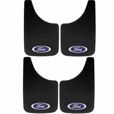 4P BUILT TOUGH OVAL LOGO 9X15 MUD SPLASH GUARDS FLAPS FOR CAR TRUCK SUV for FORD